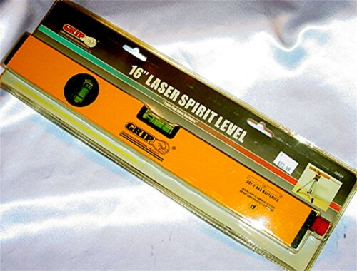 "New Grip Construction 16/"" Laser Spirit Level 29434"