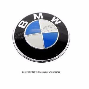 Genuine Bmw Front Hood Emblem Roundel Badge Logo Sign 528i