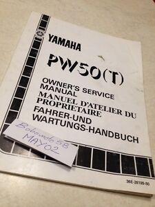 Yamaha-PW50-PW-50-T-36E-peewee-50PW-Werkstatthandbuch-Eigentuemer-Hg-86