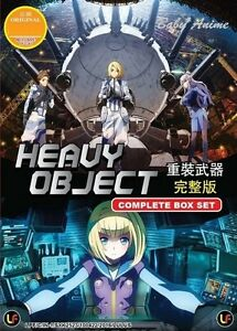 JAPAN-Anime-DVD-HEAVY-OBJECT-Complete-Series-Box-Set-1-24-End-English-Sub-NEW