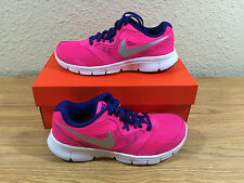 Youth Girls Nike Flex Experience 3 SNEAKERS Shoes Size 6 Pink