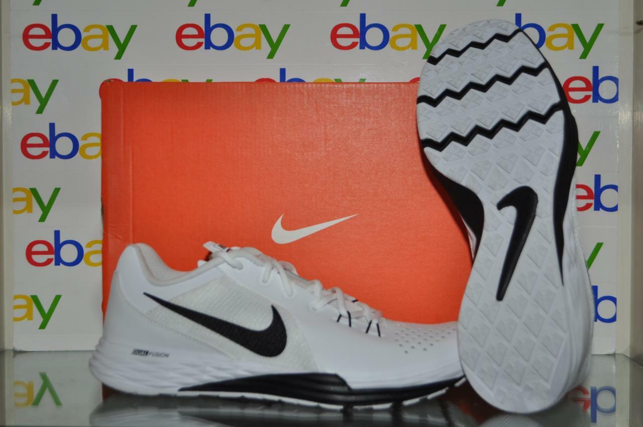 Nike Train Prime Iron DF Leather Mens Training shoes 886985 100 Size 8.5 White
