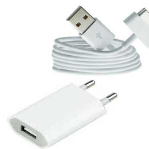 2in1-USB-Ladekabel-Kabel-Ladegeraet-Netzteil-fuer-Original-iPhone-4-iPhone-4S