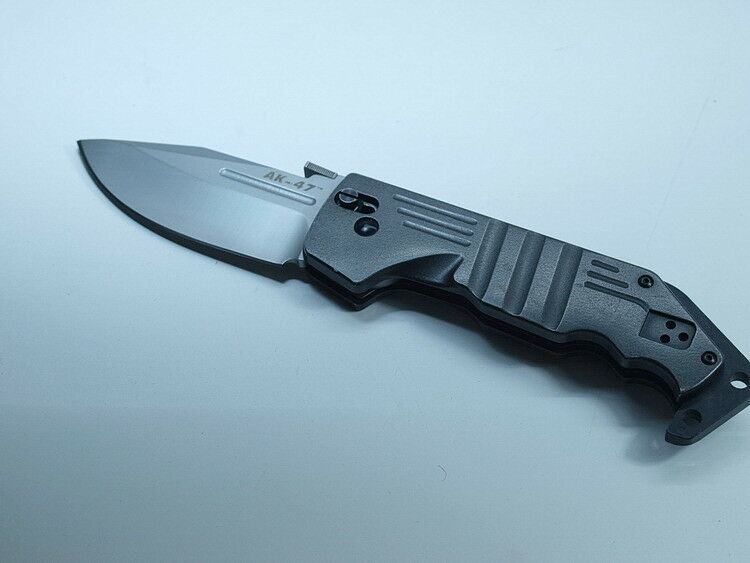 COLD STEEL TASCHENMESSER MODELL AK 47 EINHANDMESSER TASCHENMESSER STEEL altes Modell e7830e