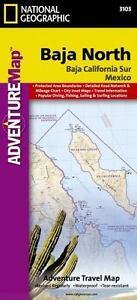 National Geographic Adventure Map: Baja North - Baja California ...
