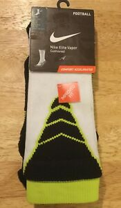 promo code 25495 87f67 Image is loading Nike-Elite-Vapor-Cushioned-Athletic-Football-Crew-Socks-