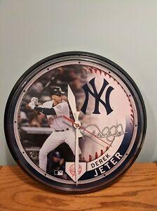 New York Yankees Derek Jeter Wall Clock - Pre-Owned