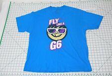 FLY LIKE A G6 Short Sleeve T-Shirt - Men's Size XL - Far East Movement NEFF Tee