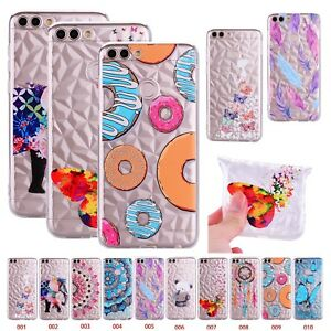 selezione migliore 29786 ec448 Details about Glitter Bling Thin Silicone Soft Case Cover For Huawei P  Smart P20 Lite Y5 2018