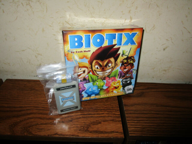 Smirk & Dagger - Biotix Board Game w/ Mini-Expansion