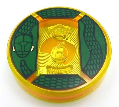 LEGO DIMENSIONS TOY 4 x 4 x 2//3 FOR LORD VOLDEMORT #64 WITH SNAKE PATTERN