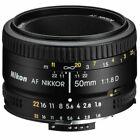 Nikon AF NIKKOR 50mm F/1,8D Obletivo - Negro