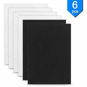 Maydear-14-Count-Cotton-Cross-Stitch-Cloth-Aida-Fabric-White-4pcs-Black-2pcs