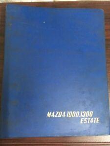 MAZDA-1000-1300-ESTATE-PARTS-BOOK-Original-Genuine-Production