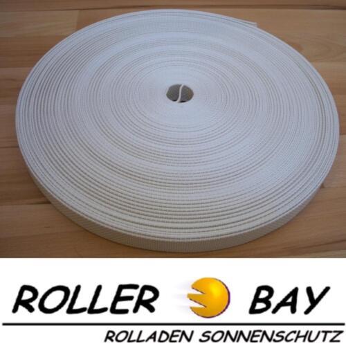 4,5 oder 6 meter Premium Rolladengurt extra stark 23 mm Maxi Rolladen Gurtband