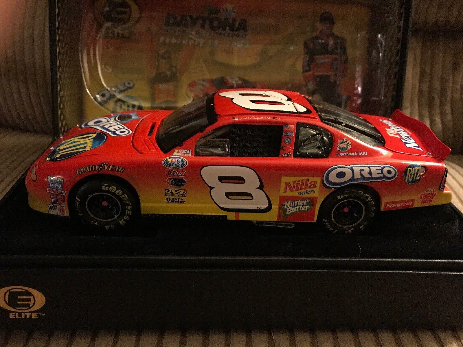 2003 1 24 Dale Earnhardt Jr.  8 RITZ OREO Daytona Raced Win Elite RARE