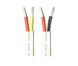 Wondrous 8 2 Awg Gauge Duplex Cable Tinned Marine Wire 10 Up To 200 Feet Ebay Wiring 101 Akebretraxxcnl