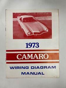 Camaro 1973 Wiring Diagram Manual 73 Chevy Ebay