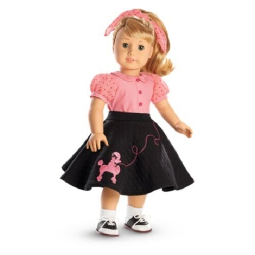 American Girl MaryEllen/'s POODLE SKIRT Outfit SET  Mary Ellen DOLL NOT INCLUDED