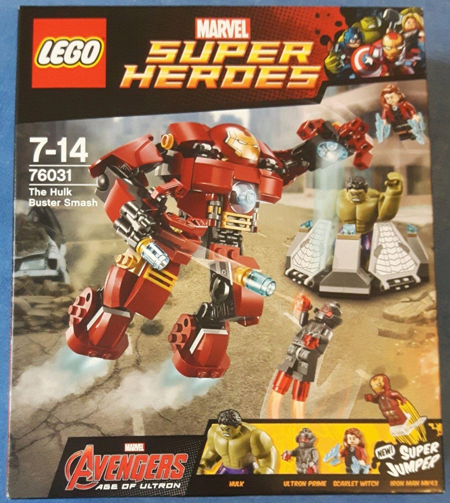 LEGO® Marvel Super Heroes 76031 Hulkbuster Rettungsmission NEU & OVP new sealed