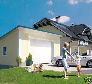 NORMSTAHL-Garagensektionaltor-mit-Torantrieb-NEU-OVP