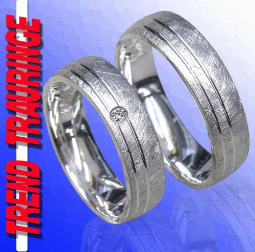 Trauringe Verlobungsringe Eheringe Silber /& Gravur T5-1