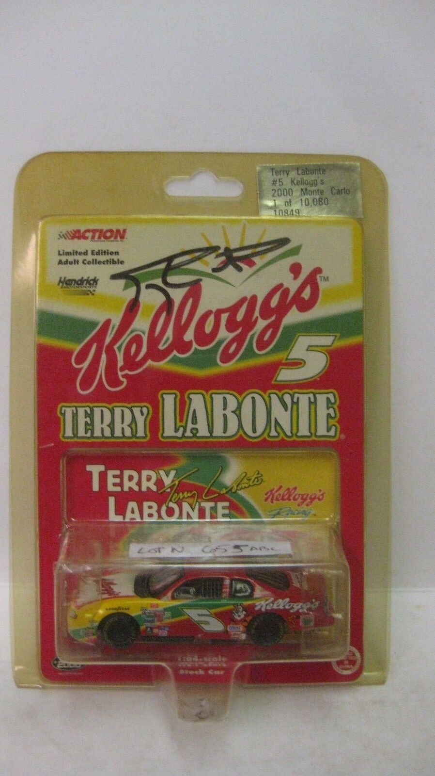 Rare Nascar Limited Edition Terry LaBonte Autographed 1 64 Diecast NEW dc1461