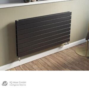 design paneelheizk rper horizontal panio anthrazit heizk rper badheizk rper ebay. Black Bedroom Furniture Sets. Home Design Ideas