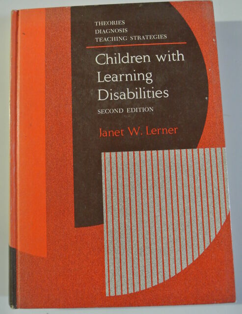 Book. Children with Learning Disabilities: Theories, Diagnosis and Teaching Stra