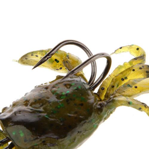 Angelköder Kunstköder Fischköder Fishing Lures Baits Haken Krabbe Form