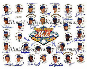 1969 NEW YORK METS WORLD SERIES CHAMPIONS SIGNED AUTOGRAPHED