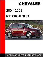 2001 2002 2003 2004 Chrysler PT Cruiser Service Repair Manual