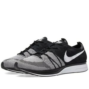 the latest bd91c 5883a 2018 Nike Flyknit Trainer Oreo Black White Size US 6 AH8396-005 ...