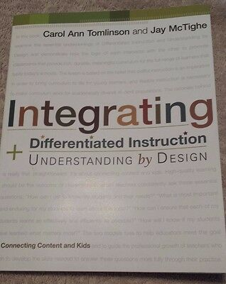Integrating Differentiated Instruction And Understanding By Design 9781416602842 Ebay