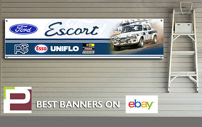 """FORD ESCORT MK1 RS2000 MEXICO AVO  LARGE DECAL WALL ART 23/"""" X 46/"""""""