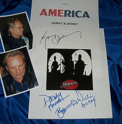Music America Autographed Photo & Photos Entertainment Memorabilia very Hot Be Novel In Design