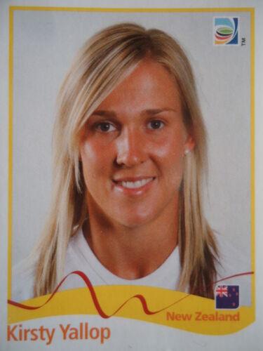 Panini Kirsty Yallop Neuseeland FIFA Frauen WM 2011 Germany