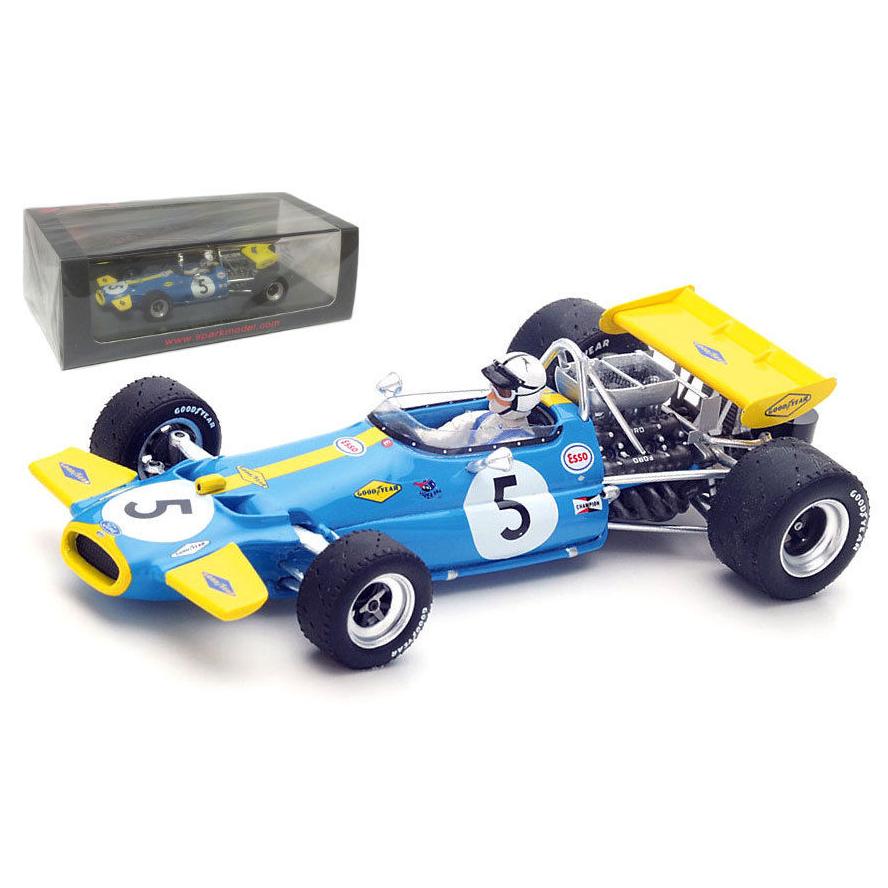 Spark Models 1 43 Brabham BT33  2nd Monaco GP 1970 Scale Model Replica  édition limitée chaude