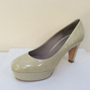 Bnwb eu Shoes Patent 36 5 00 Gil K Cream £159 amp;s 3 Rrp Uk 5 Court Platform xHxwaBng