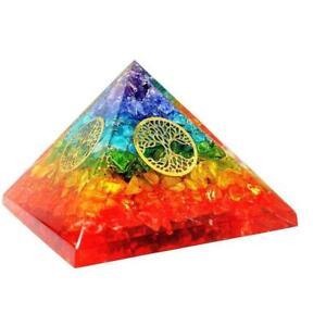 Extra-Grosse-Onyx-Orgon-Pyramide-Mit-4-Lebensbaeumen-Fuer-Energieerzeuger