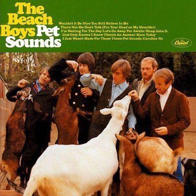 THE BEACH BOYS (NEW SEALED CD) PET SOUNDS (HDCD REMASTERED MONO & STEREO 27 TKS)