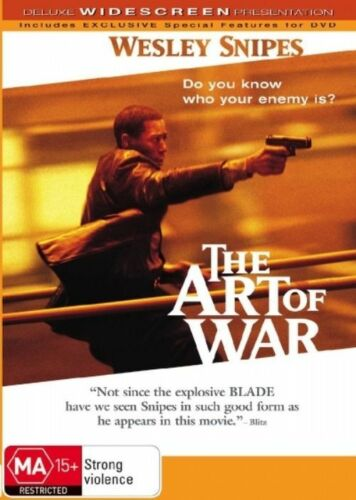 1 of 1 - The Art Of War-DVD VERY GOOD CONDITION FREE POSTAGE AUSTRALIA WIDE REGION 4
