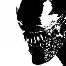 Hand Geschilderd Alien Aanval Cultfilm Pop Art Schilderij Geen Druk