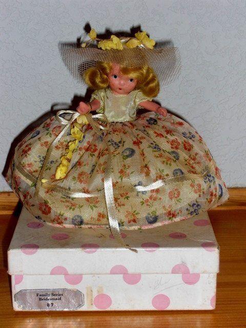 Nancy Ann Storybook Doll   87 Bridesmaid w Jointed Legs (JT) & Box
