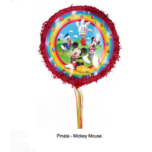 Image Is Loading Disney Mickey Mouse Clubhouse Pinata Boys Birthday Party