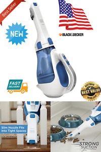 Rechargeable Portable Home Car Pet Dust Buster Cordless Hand Vacuum Wash Cleaner