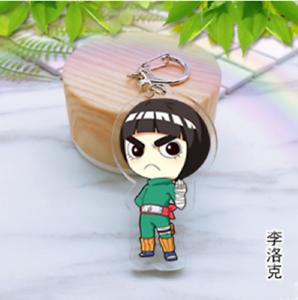 Japan Anime Naruto Hyuuga Hinata Acrylic Key Ring Pendant Keychain Gift