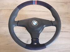 M Lenkrad BMW e31 e34 e36 mit Airbag NEU LEDERRBEZUG mit ALCANTARA KBA70202