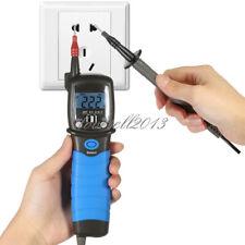 New Handheld Pen Digital Multimeter Dc Ac Voltage Meter Resistance Diode Tester