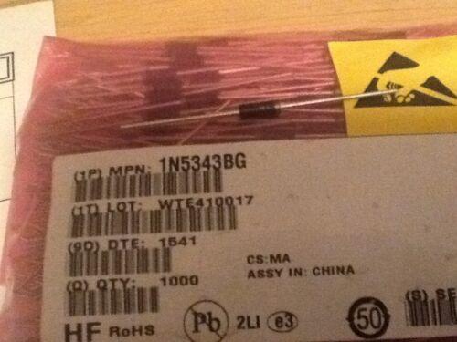 Diodo Zener-Diodo Zener 1N5343BG 7.5 V Por Lote 5W 25 un
